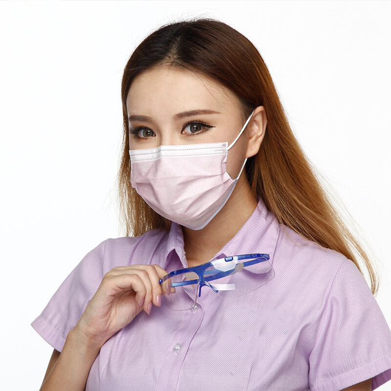 300pcs Anti Fog Dust Disposable Masks Medical Anti-dust Surgical Face Mouth Mask Respirator For Man Women Pollution Filter 50pcs high quality dust fog haze oversized breathing valve loop tape anti dust face surgical masks