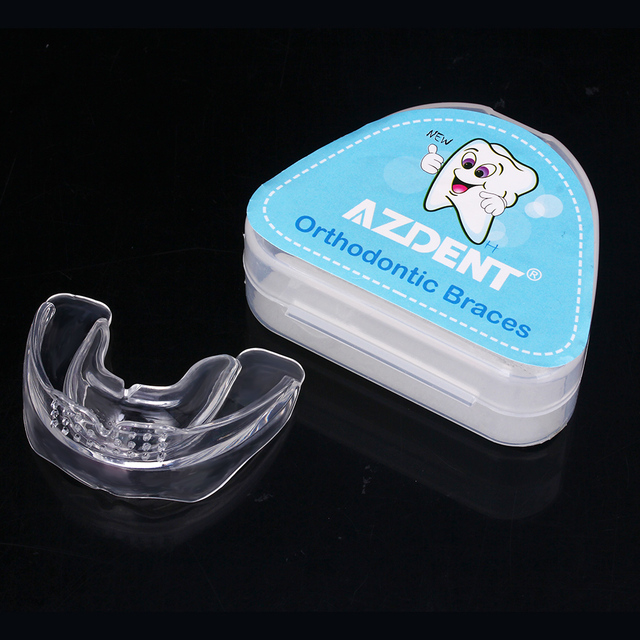 New Dental Orthodontic Brace Buck Tooth Protector Teeth Retainers Soft Hard Mouthpieces Silicone Appliance Trainer Tooth Tray