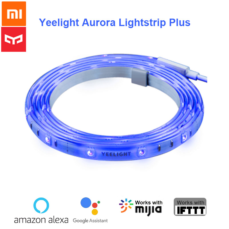 Original Xiaomi Yeelight Smart Light Strip Plus LED Light Band  Remote Control by Smart Home APP Extendable Support StitchingSmart  Remote Control