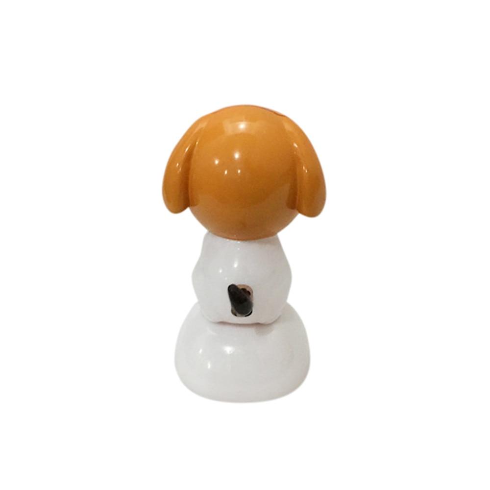 Car-styling Solar Powered Dancing Animal Swinging Animated Bobble Dancer Toy Car Decor Dog td1026 drop shipping