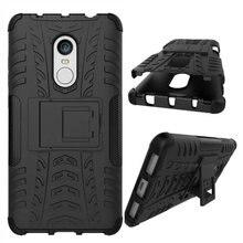 Противоударный Броня Case Для Xiaomi Redmi Note 4 Case Кремния Стенд Крышка 5.5 «защитный Телефон Case Для Redmi Note 4X