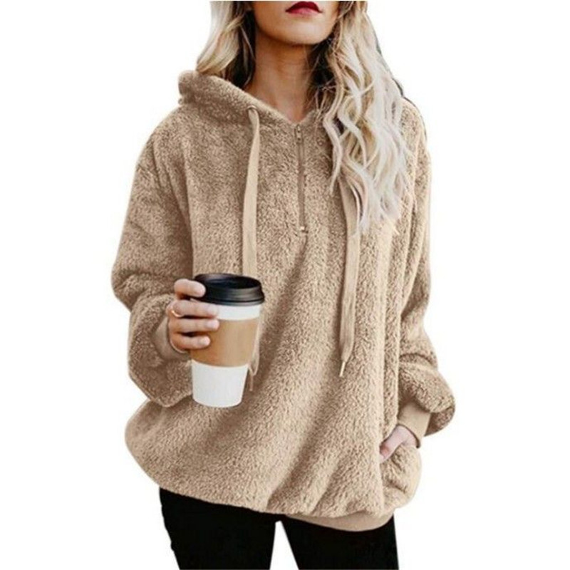 Pregnant Woman Sweatshirt Long-Sleeve Solid Color Maternity Hoodies Jacket 2019 Autumn Pregnancy Winter Clothes