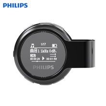 hot deal buy philips sport headphone mp3 player portable audio and video device sport mp3 earphone built-in pedo meter for jogging