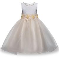 Children S Clothing Spring Summer Flowers Girls Dress Dress Children Lace Princess Skirt Net Yarn Dress