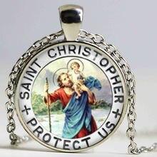 Цепочка с подвеской «Святого Кристофера»