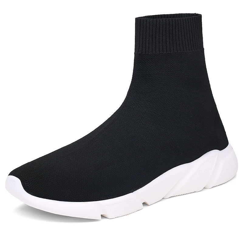 New Brand Trend Socks Sneakers For Couples Black Red Breathable Mesh Outdoor Walking Men Running Shoes Zapatos Mujer Deportivos 2018 autumn sneakers women breathable mesh running shoes damping sport shoes woman outdoor blue walking zapatos de mujer betis