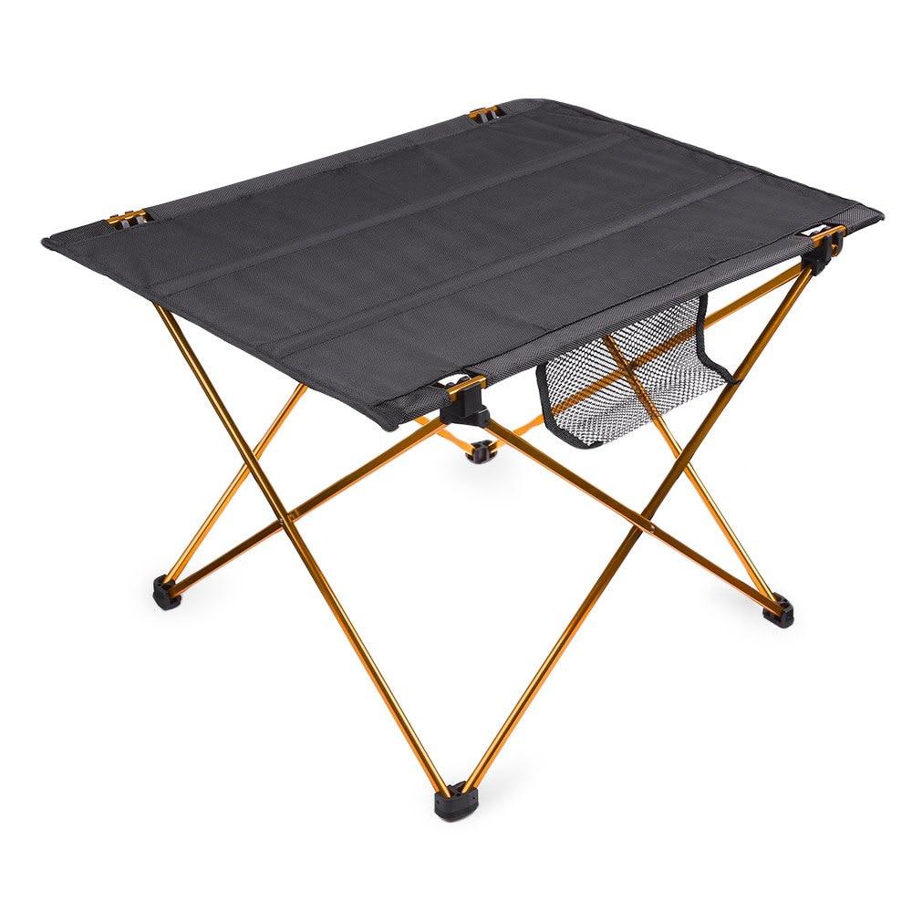 Portable Outdoor Golden Aluminium Alloy Ultralight
