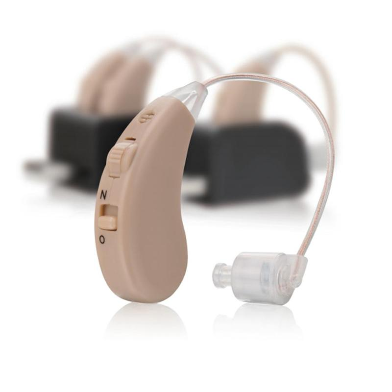 Portable invisible Hearing Aids Hearing Amplifier Digital Adjustable Tone Small Pair Noise Reduction Wireless hearing AID(China)
