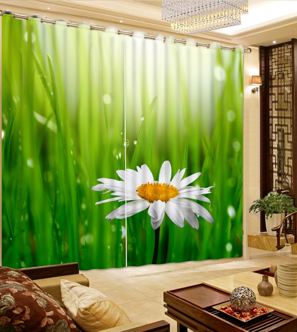 Green curtains for bedroom - Top Classic 3d European Style Window Curtain For Living Green Blackout Curtains For Bedroom Home Bedroom