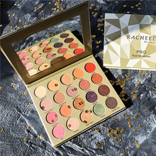 Pro 20 Colors Eyeshadow Pallete Diamond Glitter Shimmer Matte Palette Pigmented Foiled Warm Makeup