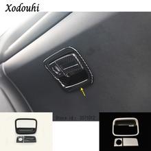 Автомобильный чехол детектор ручной коробки co-pilot перчаточный ящик передняя отделка лампа накладка панель подлокотник 3 шт. для Honda CRV CR-V 2017 2018