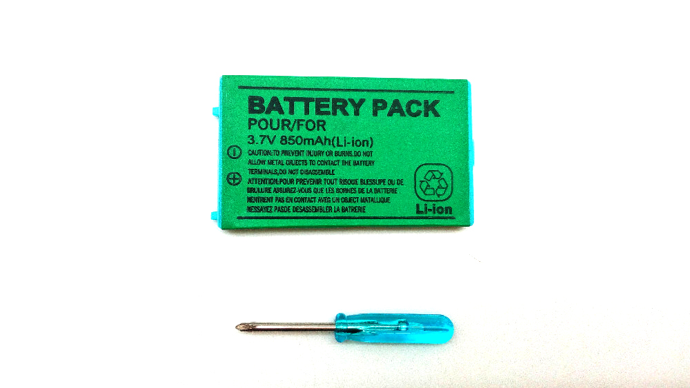 Hot Sale 3.7V 850mAh Rechargeable Replacement Battery For NINTENDO For Gameboy Advance For GBA SP