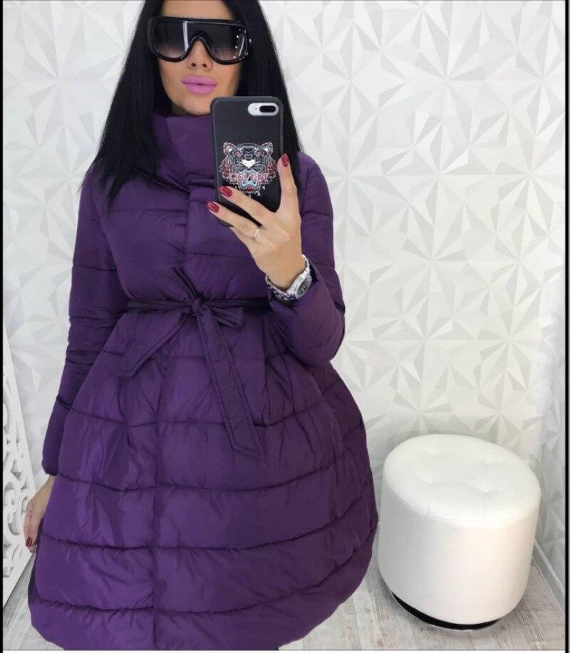 Mode 2018 Couleur Un rose De Chaude bourgogne Ukraine Vente Long Hiver Poitrine Femmes Solide Aucun Manteau Unique Coton Chaud army Noir Mot pourpre Green Vêtements 67YZqw