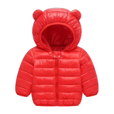 2019 Autumn Winter Jackets For Girls Coat Children Parkas Kids Boys Jackets Baby Girls Jackets Warm Hooded Outerwear Coat Islamabad