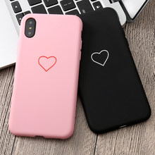 Mooie 3D Silicone Love Heart Soft Case Voor Iphone X Xs Max Xr 6 6S 5 5S Se 8 7 Plus 11 Pro Max 2019 6.5In Cover Coque Fundas(China)