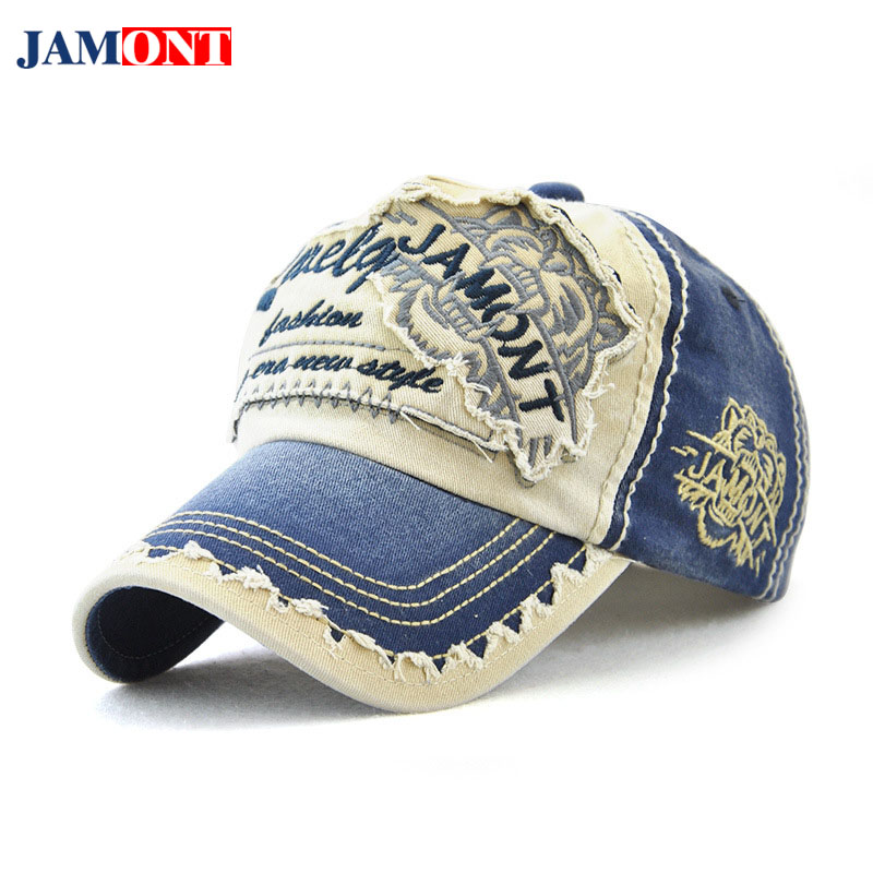 2018 Spring Summer Autumn and Winter Hats Fashion Men and Women Cotton Anti-mite Baseball Cap Embroidery Font Hat JAMONT