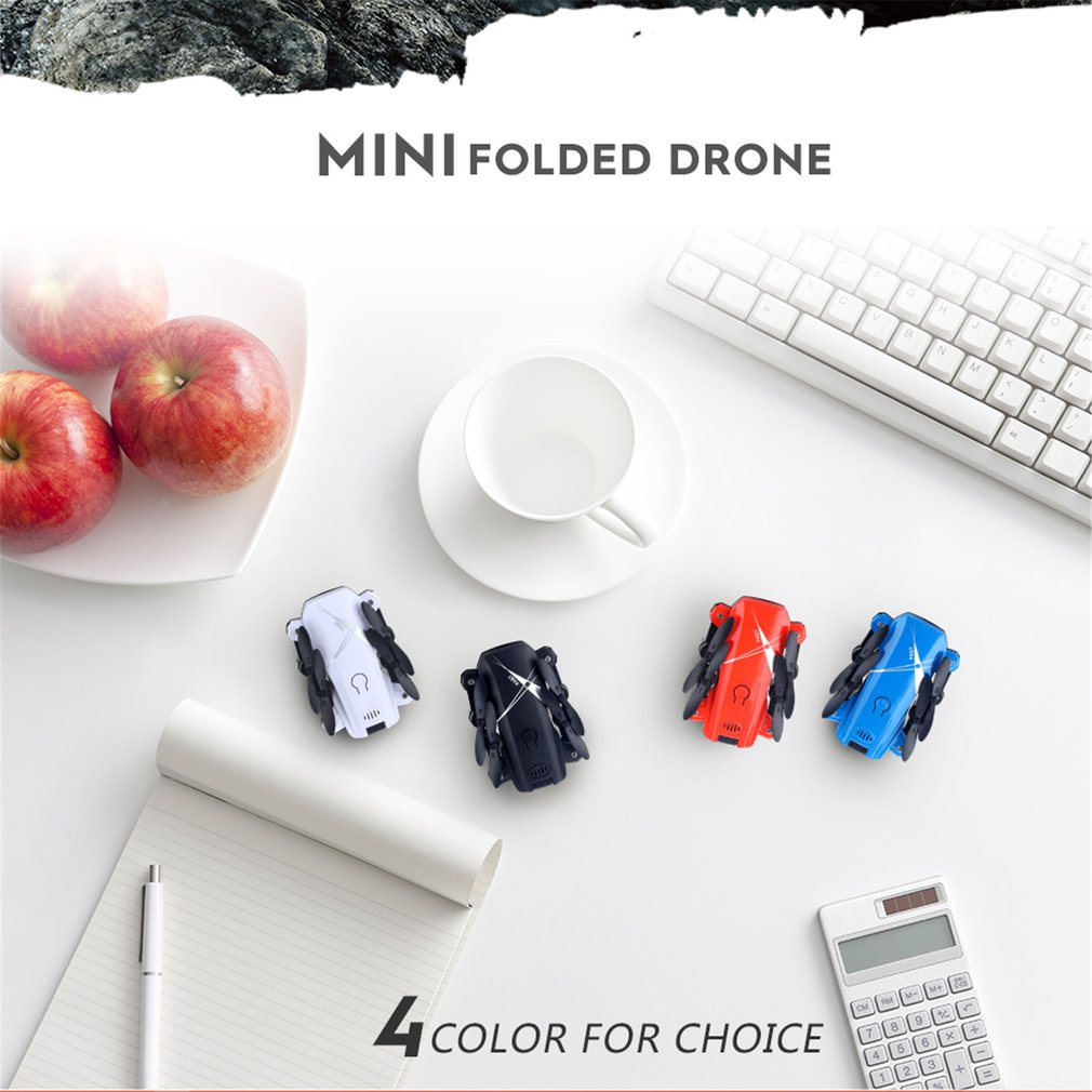 HOT LF602 2.4G Mini FPV Foldable RC Quadcopter Drone Aircraft with 720P HD Wifi Camera Gesture Selfie Altitude Hold Gift Kids(China)