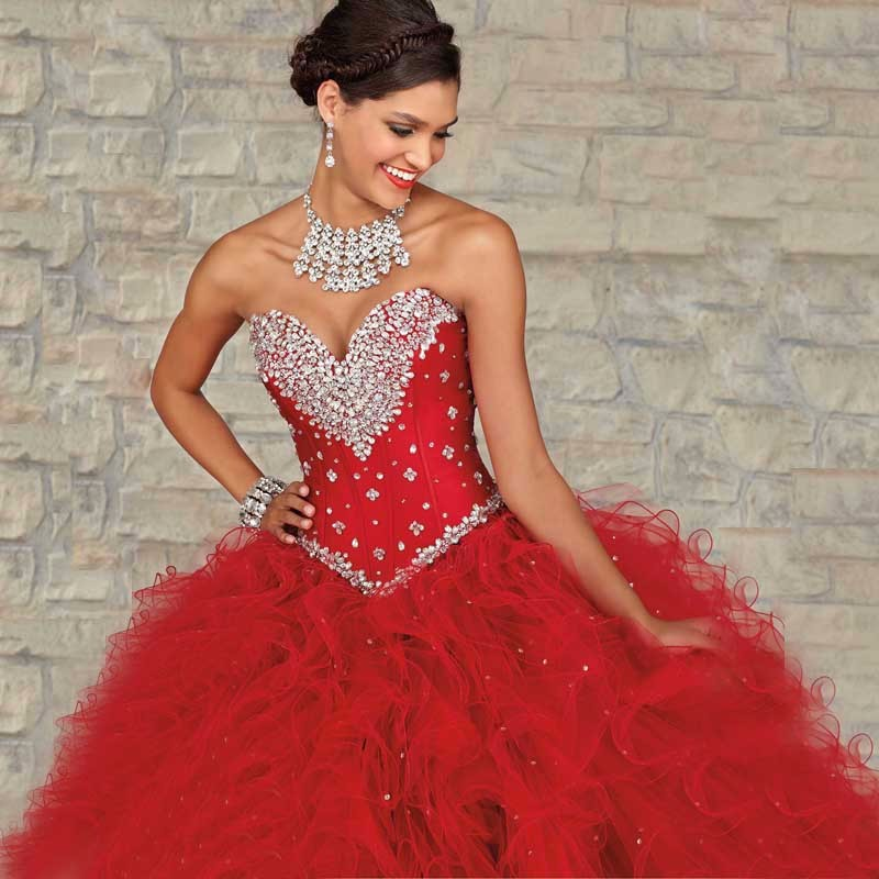 2016-Sensual-Looking-Red-Blue-Organza-Ball-Gown-Long-Quinceanera-Dresses-For-Girls-15-Years-Party (2)