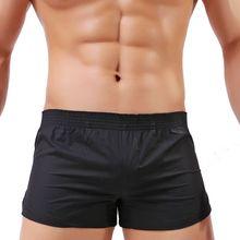 Трусы-боксеры мужские хлопковые, цветные Свободные дышащие эластичные шорты, нижнее белье, большие размеры