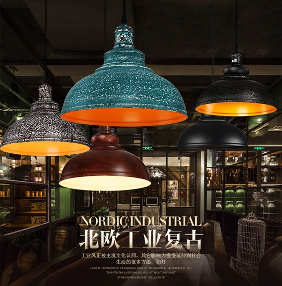 Loft Style Iron Industrial Droplight RH Vintage Pendant Lamp Fixtures For Dining Room LED Hanging Light Indoor Lighting loft style iron vintage pendant light fixtures rh edison industrial lamp for dining room bar hanging droplight indoor lighting