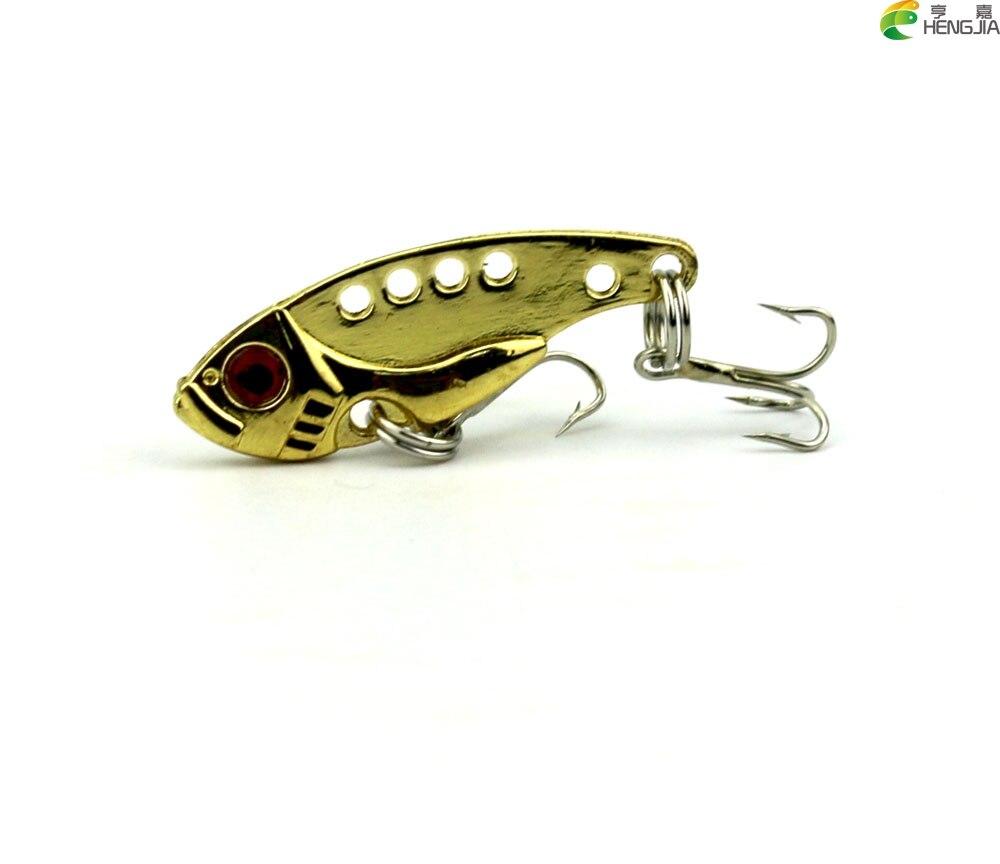 Fishing accessories hard metal vib bite fishing lures 3 for 5 3 fishing
