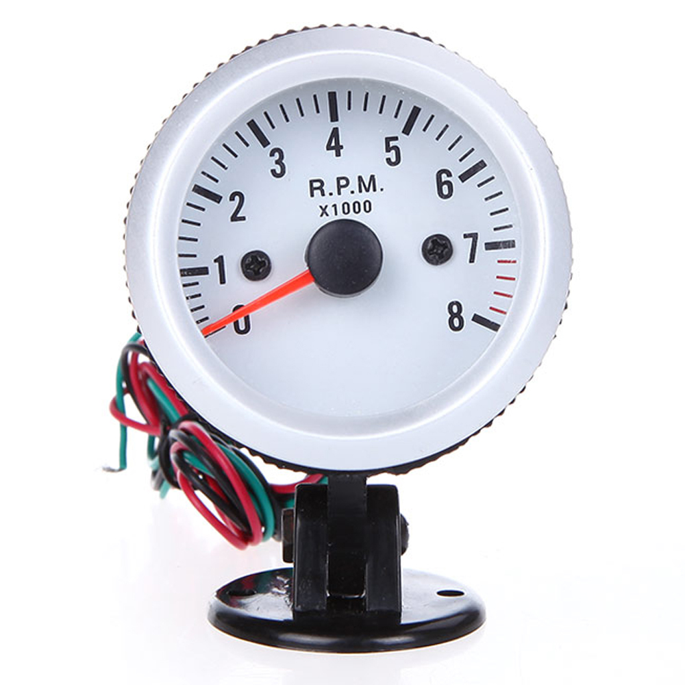 Image 5 - For 4*6*8 Cylinder Tachometer Car Motor Gauge Tacho Meter Gasoline 12V DC Blue-in Tachometers from Automobiles & Motorcycles