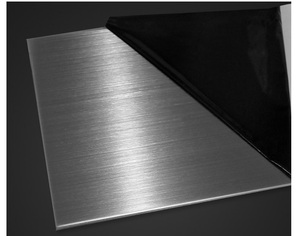 Image 4 - 316L Stainless Steel plate size 1*200*200mm metal Sheet Brushed surface