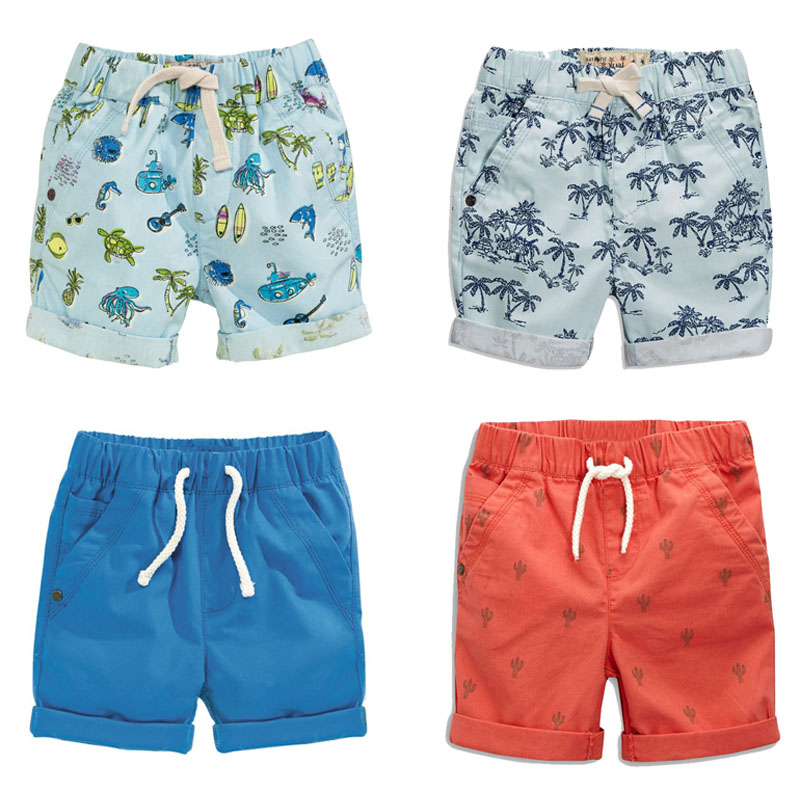 New 2019 Brand Quality 100% Cotton Summer Baby Boys   Shorts   Toddler Kids Clothing Children Clothes Casual Pants Beach   Shorts   Boys