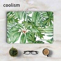 Green Leaves Full Body Cover Skin For Macbook Sticker 13 Pro Air Retina 11 12 15