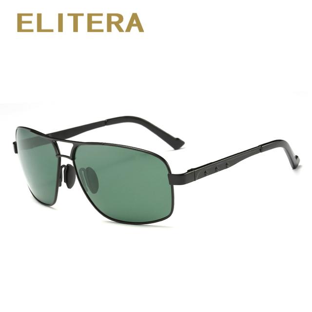 ELITERA Polarized Sunglasses Men New Arrival Brand Designer Sun Glasses UV400 With Original Box gafas oculos de sol masculino
