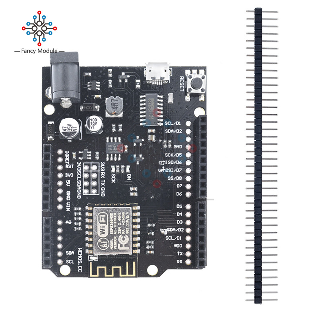 For WeMos D1 R2 WiFi Based ESP8266 V2.1.0 ESP-I2F For Arduino UNO R3 Nodemcu Compatible Module href