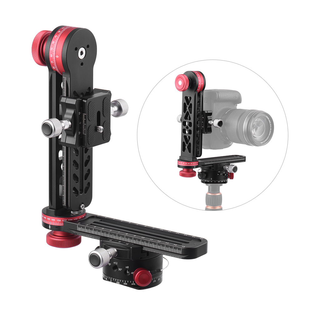 720 Degree Panoramic Head Panoramic Support Stand Gimbal Tripod Ball Head for Canon Nikon Sony Pentax