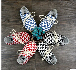 2015 fashion new Genuine Cow Leather Baby Moccasins Newborn Baby first walkers Soft Moccs plaid lace up girl shoes  Infant Shoes
