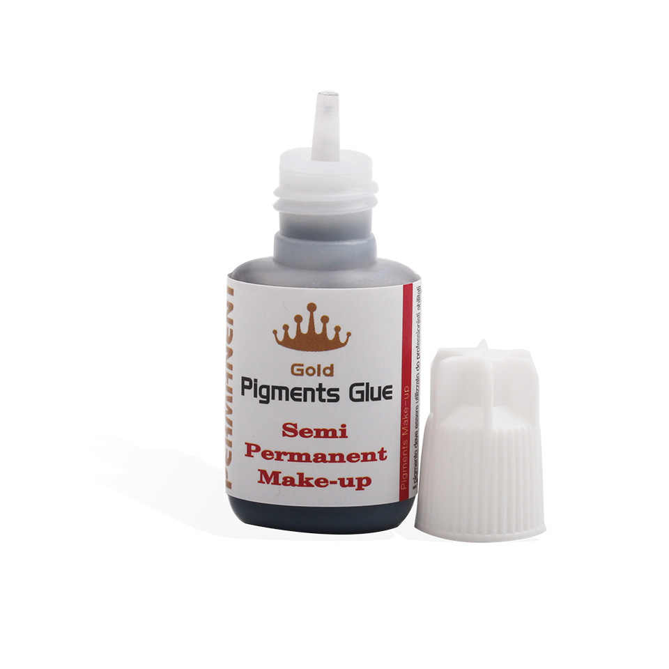 6f72218494f ... 10ml 1s Dry Lashes Glue for Individual Eyelash Extension Fast Drying  Gold Pigments Glue Semi Permanent ...