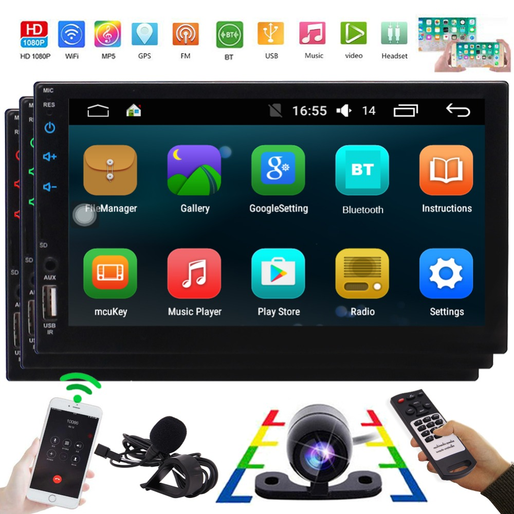Worldwide delivery double din bluetooth external microphone in