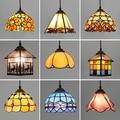 Artpad lámpara marroquí estilo mediterráneo Pantalla de Cristal AC110V-220V mosaico LED luces colgantes para pasillo
