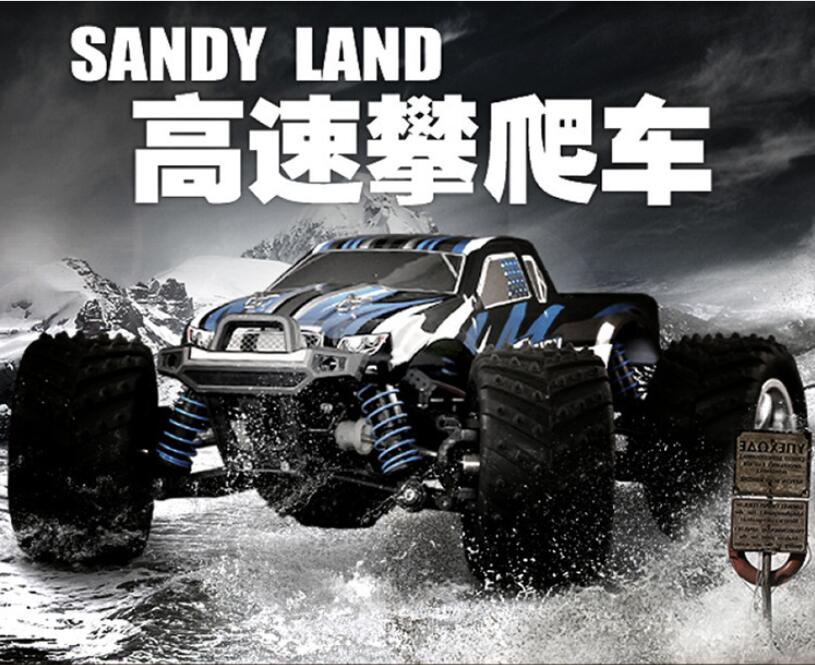 Middle size 24cm 40-50KM/H Electric High Speed Remote control rc toy car 9300 2.4G 1:18 4WD drive Off-Road RC Truck vs 9116 A959 2017 new 40km h rc high speed car 1 16 proportionl 2 4g 4wd remote control off road monster truck electric power toy vs 94107pro