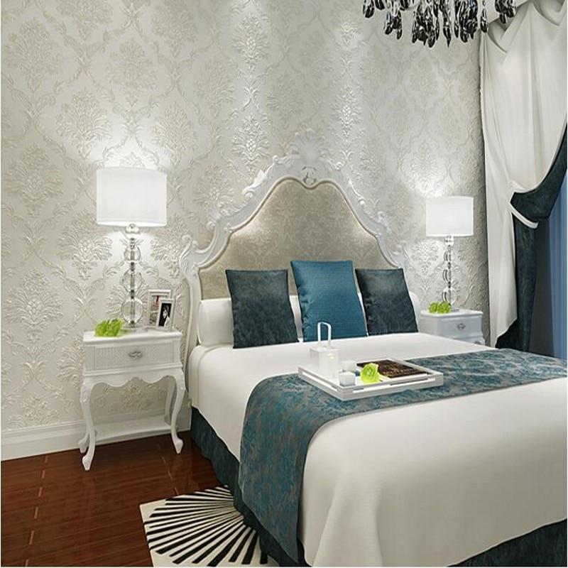 Beibehang Muffa falena Europeo 3d wallpaper soggiorno camera da ...