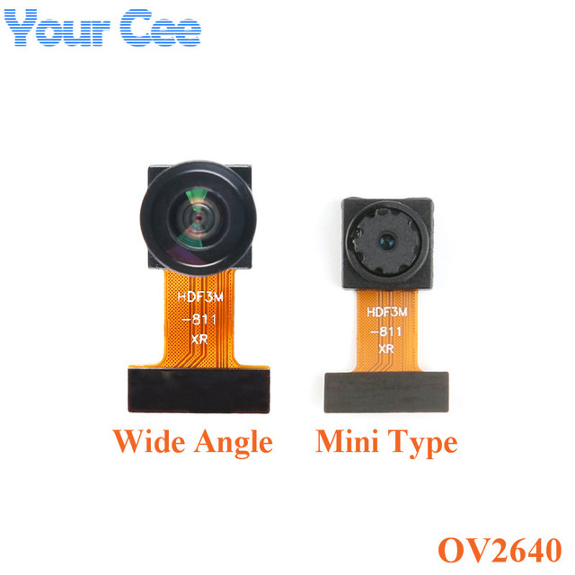 Mini OV2640 Camera Module CMOS Image Sensor Module 2 Million Pixel Wide Angle Camera Monitor Identification
