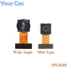 מיני OV2640 מצלמה מודול CMOS תמונה חיישן מודול 2 מיליון פיקסל רחב זווית מצלמה צג זיהוי