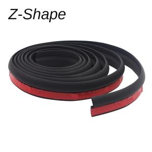 Image 4 - Cawanerl 2 Meter Car Hood Door Trunk Rubber Seal Strip Weatherstrip Auto Seal Edge Trim Sealing Strip Sound Insulation