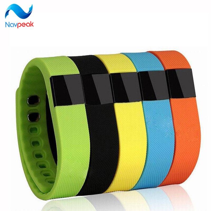 10pcs lot Hot Smart Wristband Step Monitor Fitness Bracelet Alarm Clock Smart Band Waterproof for IOS