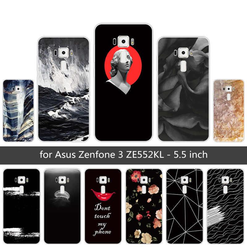 Для Asus Zenfone 3 ZE552KL чехол для Asus ZE552KL ТПУ Мягкая силиконовая фантазии задняя крышка 5,5 дюймов для Asus Zenfone 3 ZE552KL