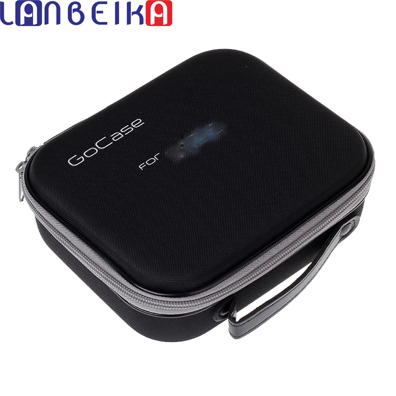 LANBEIKA Collection Bag Storage Case Box Portable Protective Shockproof Gocase for Gopro Hero 6 5 4 3+ SJCAM SJ6 SJ7 SJ4000 Eken
