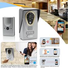 Wifi Video Door Phone Doorbell Intercom| Wireless IP Intercom Interfone Peephole Camera Door Viewer Smart Phone Video