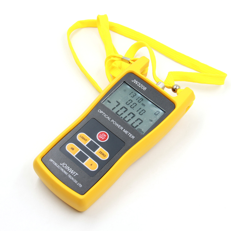 JW3208C Joinwit -50~+26dBm Handheld Optical Power Meter Fiber Optic Tester SC FC ST Connector