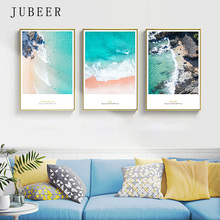 Scandinavian Style Sea Landscape Decoration Painting Living Room Frameless Painting Pictures Bedroom Decoration Home Decor