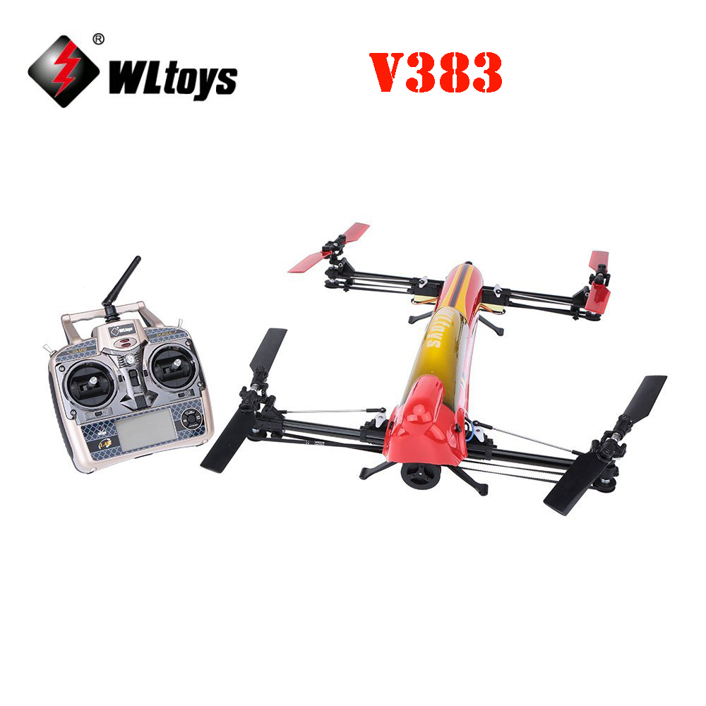 WLtoys V383 500 Electric 3D 6CH 6-Axis 2.4GHz RC Quadcopter Drone RTF wltoys v383 500 electric 3d 6ch rc quadcopter rtf 2 4ghz with brushless motor esc