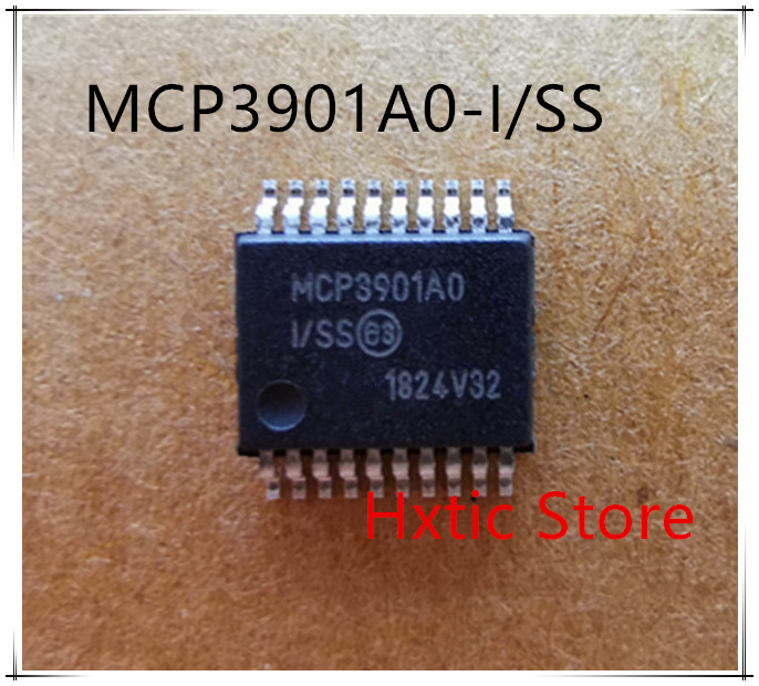 NEW 10PCS/LOT MCP3901A0-I/SS MCP3901A0 MCP3901 SSOP-20 IC