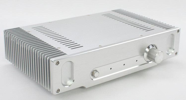WF1155 Full Aluminum Amplifier Enclosure/ Mini AMP Case/ Preamp Chassis/ PSU BoxWF1155 Full Aluminum Amplifier Enclosure/ Mini AMP Case/ Preamp Chassis/ PSU Box